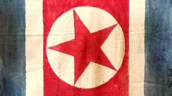 Web Appraisal: 1950 USMC-Captured North Korean Flag