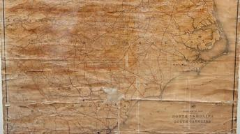 Appraisal: 1888 Post Office Wall Map