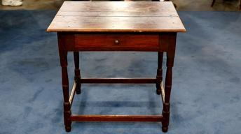 Appraisal: Virginia Queen Anne Walnut Tavern Table, ca. 1750
