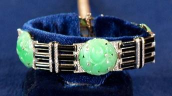 S18 Ep15: Web Appraisal: French Art Deco Carved Jade Bracele
