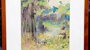 Appraisal: 20th-Century Alice Ravenel Huger Smith Watercolor