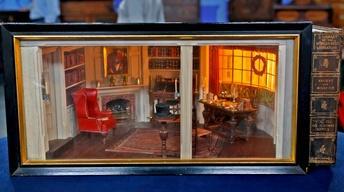 Appraisal: Eugene Kupjack Miniature Room