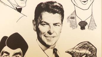 Web Appraisal: 1961 Ronald Reagan Inscribed Print