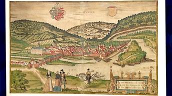 Appraisal: 1588 Braun & Hogenberg Engraving of Munden...