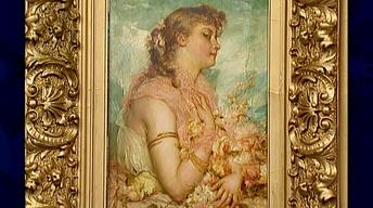 Appraisal: 19th-Century Joseph Bernard Painting