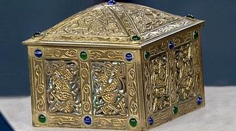 Appraisal: Tiffany Studios Gilt-Bronze Box