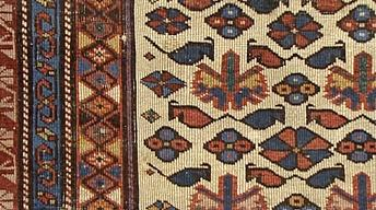Appraisal: Late 19th-Century Kuba Rug