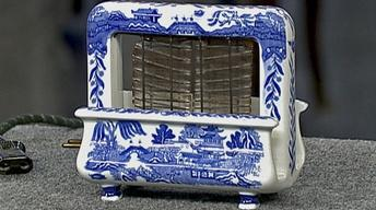 Appraisal: Blue Willow Patterned Toaster