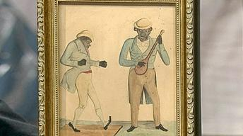 Appraisal: 19th-Century Folk Art Painting