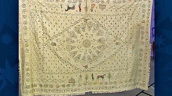Appraisal: 1796 American Homespun Coverlet