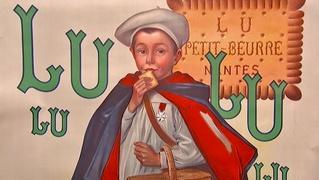 Appraisal: Lu-Lu Biscuits Poster, ca. 1930
