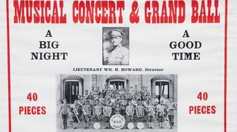 S16 Ep18: Appraisal: WWI African American Band Poster & Phot