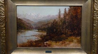 Appraisal: Thomas Hill Oil Painting, ca. 1890