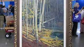 Appraisal: Joseph Fleck Taos Landscape, ca. 1927