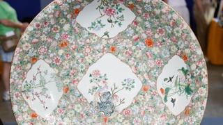 Appraisal: Late 19th-Century Chinese Famille Rose Charger