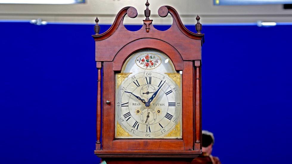 Appraisal: Read & Watson Tall Clock, ca. 1815 image