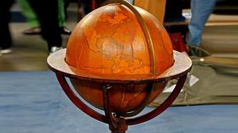 S18 Ep24: Appraisal: 1844 Newton's Terrestrial Floor Globe