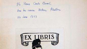 "S14 Ep10: Appraisal: 1929 W. Faulkner Inscribed ""Sartoris"" F"
