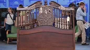 "S19 Ep1: Appraisal: ""The Godfather, Part II"" Headboard"