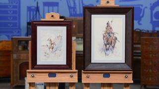 Appraisal: 1901 & 1907 Edgar S. Paxon Watercolors