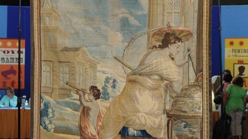Appraisal: Belgian Allegorical Tapestry, ca. 1660