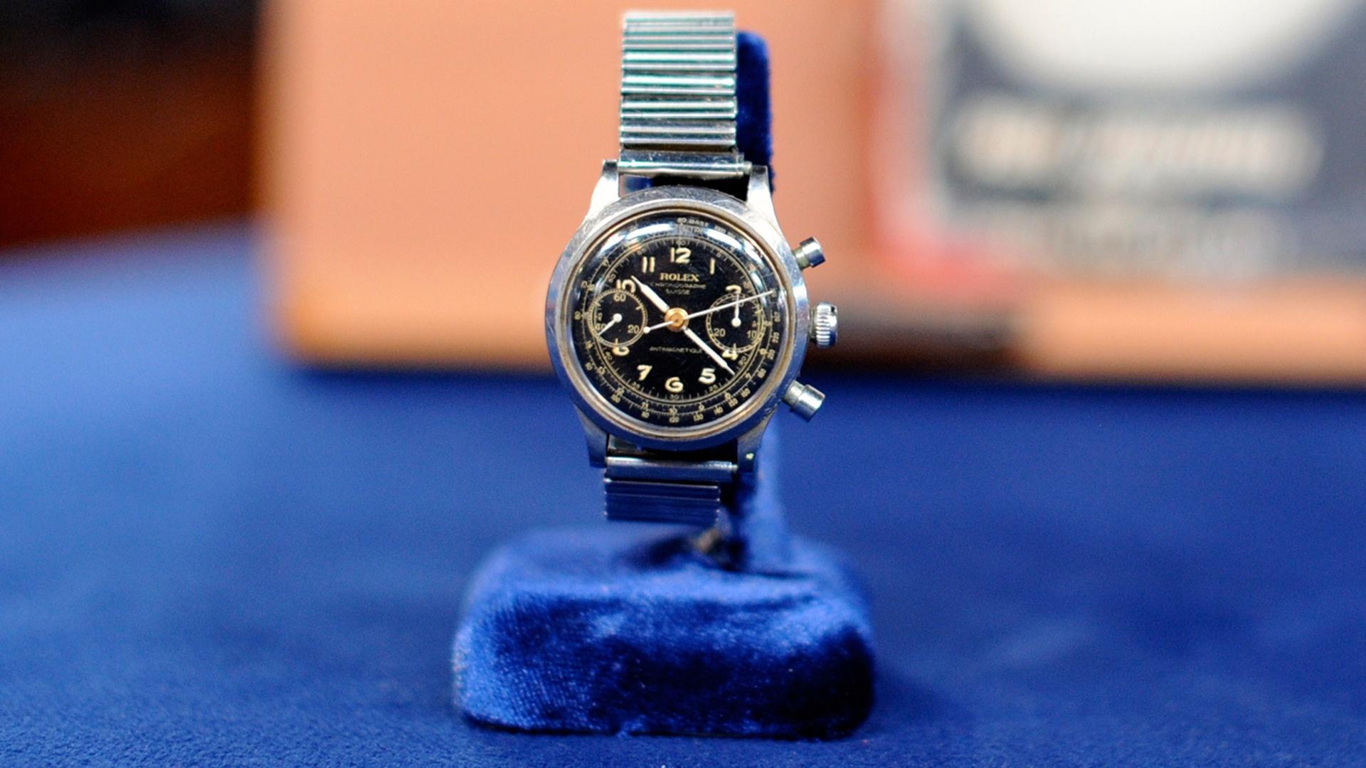 Antiques Roadshow - Appraisal: Rolex Military Watch, ca ...