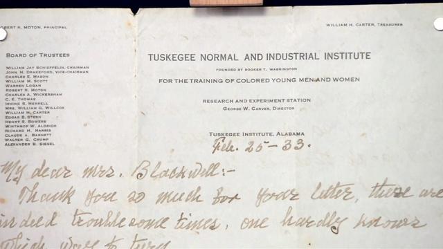 Appraisal: 1933 George Washington Carver Letter