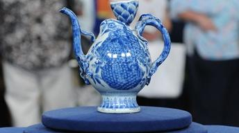 Appraisal: 17th-Century Chinese Transitional Wine Pot