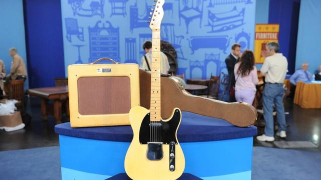 Appraisal: 1953 Fender Telecaster with Amp & Case