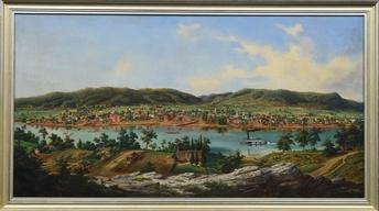 Appraisal: 1854 Edward Beyer Panoramic Oil