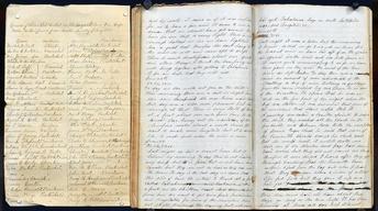 Appraisal: 1849 Gold Rush Ship's Log & Register