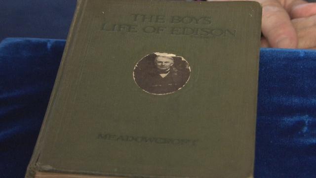 Appraisal: 1924 Thomas Edison Signed Book