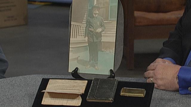 Appraisal: Soldier's Diary & Memorabilia