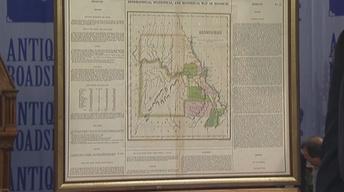 Appraisal: 1822 Carey & Lea Missouri Map