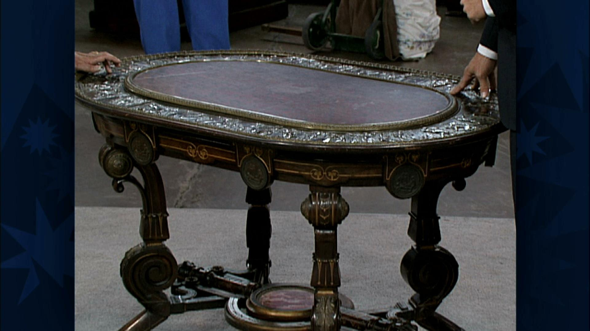 Antiques Roadshow Appraisal Pottier Stymus Furniture Ca 1870 Twin Cities Pbs