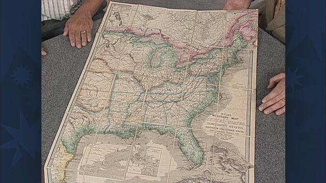 Appraisal: 1861 Wyld's Military Map of the U.S.
