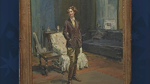 Appraisal: Charles Dana Gibson Painting