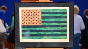 S19 Ep20: Appraisal: 1969 Jasper Johns Flag Print