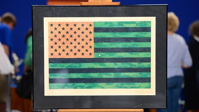 Appraisal: 1969 Jasper Johns Flag Print