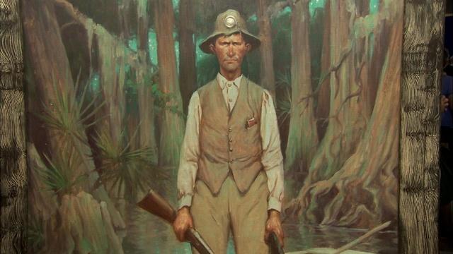 Appraisal: J. Clinton Shepherd Painting, ca. 1945