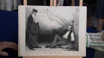S19 Ep32: Appraisal: 1834 Daumier Lithograph Print