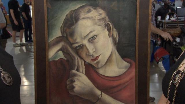Appraisal: Mary Elizabeth Hutchinson Portrait