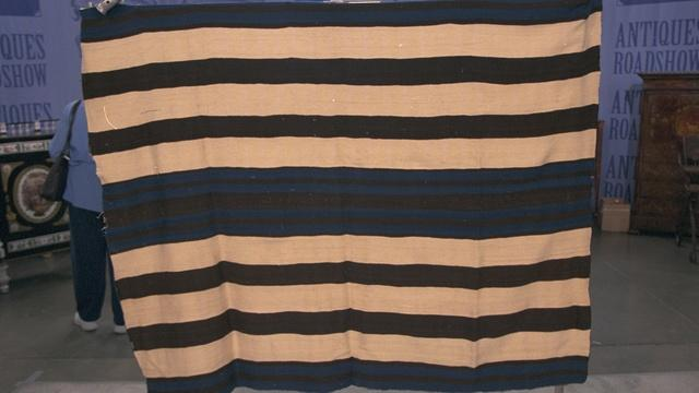 Appraisal: Mid-19th Century Navajo Ute First Phase Blanket