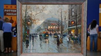 S13 Ep15: Appraisal: 1959 Édouard Cortès Oil Painting