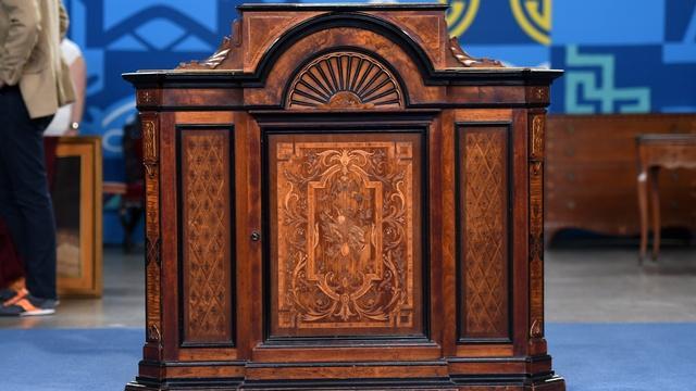 Appraisal: Jacob Ziegler Parlor Cabinet, ca. 1865