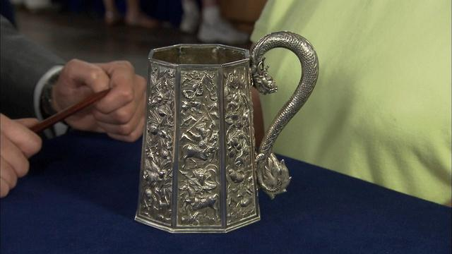 Appraisal: Chinese Export Silver Tankard, ca. 1830