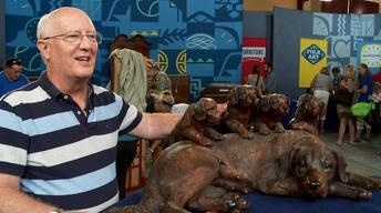 Owner Interview: Walter Mader Black Forest Carved Dogs