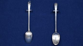 Appraisal: 1774 Rutledge Family Spoons