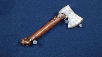 S20 Ep15: Appraisal: 17th-Century Axe with Fruitwood Handle