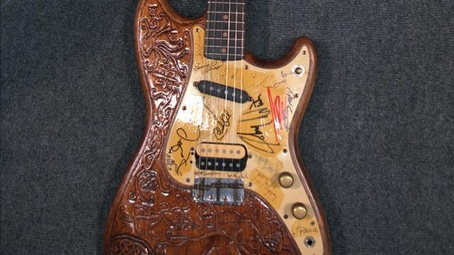 Appraisal: Autographed Electric Guitar